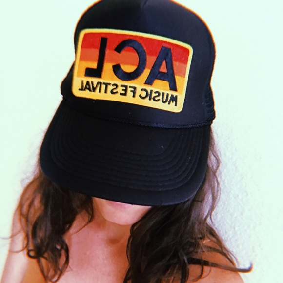 627dc136e16 Aviator Nation Accessories - Aviator Nation ACL festival Atx black trucker  hat